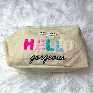 NWOT Benefit Makeup Bag